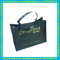 2015 bolsa verde de encargo eco amigable para la promoción