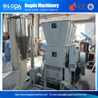 Plastic Shredder Crusher Machine in one unit/Single Shaft Shredder