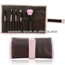 2013New arrival Professional factory direct hot model mini convenient makeup brush bag for girls beauty