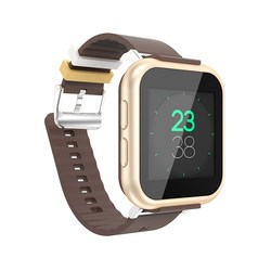 High quality 3g smart phone watch heart rate monitor smart watch bluetooth phone Gold