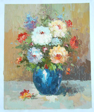 Famous canvas oil painting prices