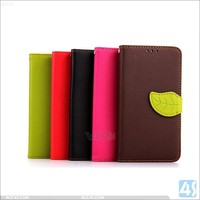 New arrival hot selling tpu+pu leather leaf design with strap coloorful case for lg g3