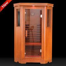 tradizionale di alta qualità in fibra di carbonio di riscaldamento in legno sauna con prezzo di fabbrica per sauna