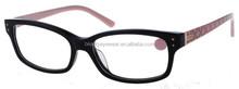 Black color lunettes optic