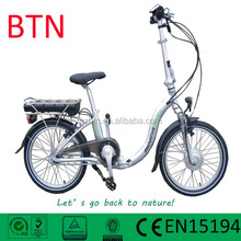 pedal assisted electric bicycle with lithium battery