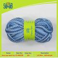 Maravilloso fibra de tres colores de malla de hilo for moda tejer bufandas