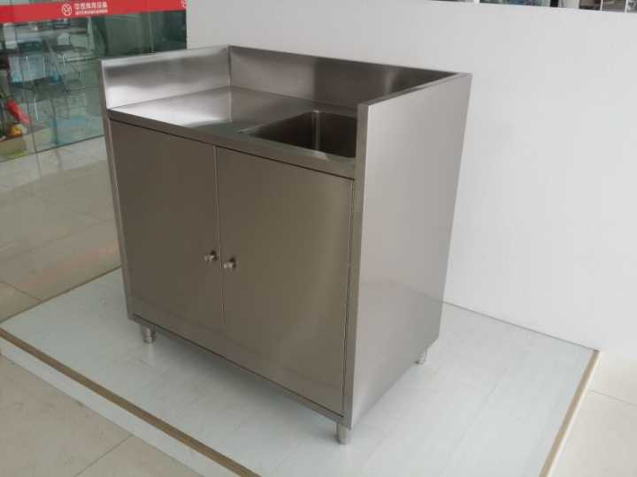 Commercial Stainless Steel Ready Made Cheap Kitchen Sink Cabinets ...
