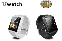 Bluetooth Smart Watch WristWatch U8 U Watch for Samsung S4/Note 2/Note 3 HTC LG Huawei Xiaomi Android Phone Smartphones 2015 Hot
