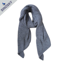 Promotional hot sales knit scarf winter muffler ladies scarf