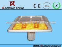 Roadside traffic security Solar Road Sign Flashing Light,Solar Road Marker,Solar Road Stud