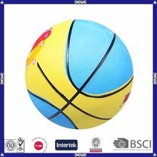 bulk colorful custom printed rubber basketball