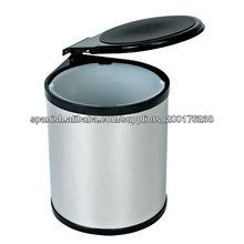 Cesto de basura de acero de 12 litros