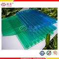 Dez anos de garantia UV revestido folha de policarbonato / policarbonato / painel solar