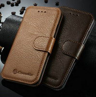 2016 New Arrival Mobile Phone Case for iPhone 6s, Genuine Leather Flip Case for iPhone 6s, for iPhone 6s Wallet Case