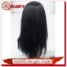Dropshipping 6a top quality no shed&tangle cheap brazilian hair full lace wig with baby hair