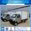 Changan 6 wheel ice cream van freeze good quality 2 ton freezer refrigerated truck new design ice cream van freezer