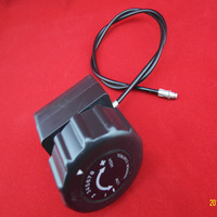 high quality steel cable with knob Spinner/trimmer of exercise equipment