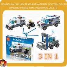 3in1 police unit toy The Prisoner Transport Car hottoys mini jeep go kart