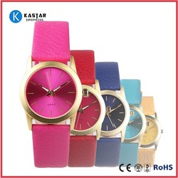 BELLA LEATHER STRAP WATCH FOR WOMEN