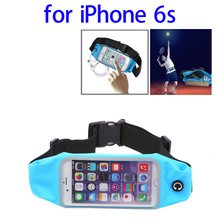 Paypal Accepted Waterproof Nylon and PVC Waterproof Sports Bag for iPhone 6s with Earphone Hole