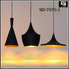 Flose MD-7078-3 Tom dixon aluminum commercial led light,tom dixon led pendant light,modern pendant lamp