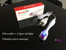 6 in 1 medical grade titanium derma roller , factory direct sale micro needle , high quality microneedle therapy system