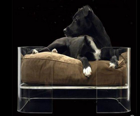 2016 Acrylic dog beds Factory Direct Wholesale High Quality Various Fabric and Pattern Pet Bed