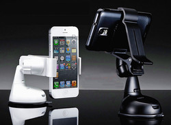 Universal Car Windscreen Suction Mount Holder Clip Cradle for 6 inch Mobile Phone Smartphone