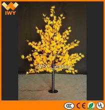 สิ่งแวดล้อมสว่างเมเปิ้ลต้นไม้สำหรับการตกแต่งงานแต่งงาน