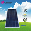 Latest technology best price polycrystalline 150w solar panel price in india