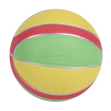 cheap offical standard size 7 Corrugated colorful rubber 560g customer logo print basketball KH10-15
