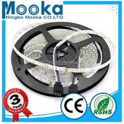 MSPR35284 3528 smd decoration led flexible strip light 4.32W 12v ws2812b led strip