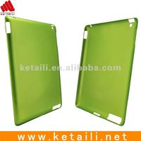 Transparent plastic protective phone case for Ipad 2 jacket in different color or custom logo