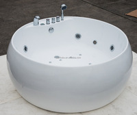 cUPC certified hot tub round, round tub, hot family sex massage hot tub with sex video