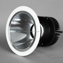 40W high power LED COB downlight with mirro feflector for luxury hotel project