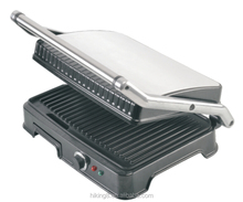 2015 high quality electric gas panini grill