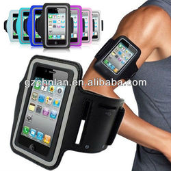 Waterproof gym sport cellphone armband for iphone 5 armband