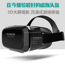 Virtual Reality VR 3D Glasses Shinecon HD VR Glasses for Video