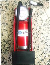 Factory price New high quality Mountain bike tyre inflator/ Aluminium cylinder air pump/ Bike pump with gauge
