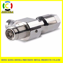 China custom cnc machining aluminum or steel machine parts for chroming