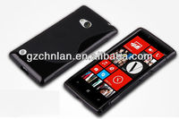 High quality crystal s shape back cover case for nokia lumia 720