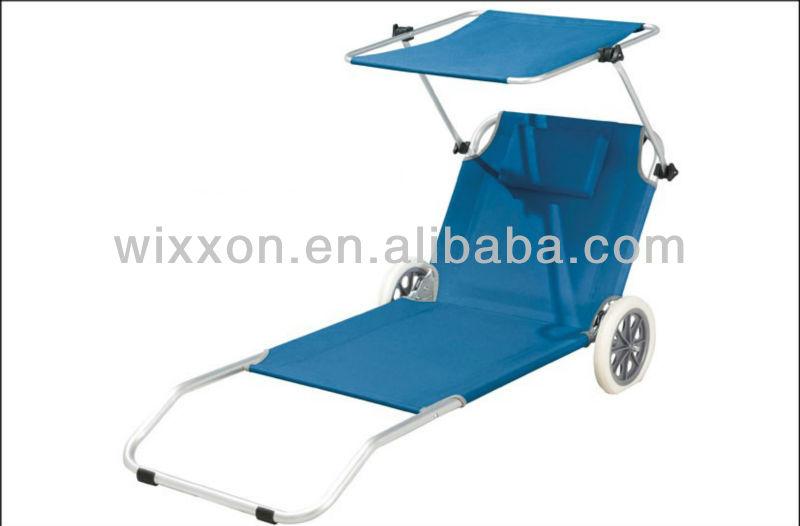 De Playa Plegable Tumbona Silla De Playa Plegable Con
