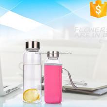 550 ml wholesale glass water bottles double wall glass water bottle