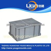 Household products plastic milk crate mould