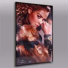 A1 A2 LED Lighted Movie Poster Frames Magnetic framed Poster
