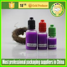 20ml Eliquid Cigarette PET thin dropper bottle Child Proof Tamper Proof eliquid dropper bottle 20ml