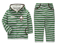Hot Winter Babys Sleepwear Cotton Boys Pyjamas Girls Clothing Children's Clothes Baby Sets Underwear kids pajama sets