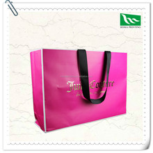 Eco-Friendly Hot Sale Craft Paper Bag With Button closure luxury paper shopping bag