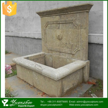 factory supply antique stone wall fountain