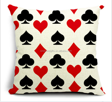 2015 Chinese factories wholesale supply hot sale fashion comfortable warmth 100% cotton Square poker Sofa Cushion